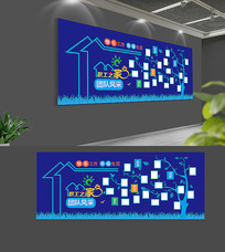 职工照片墙设计