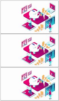 二维动画商业展示AE模板