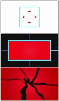 简洁图形节奏LOGO视频模板