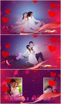 pr浪漫婚庆写真视频模板