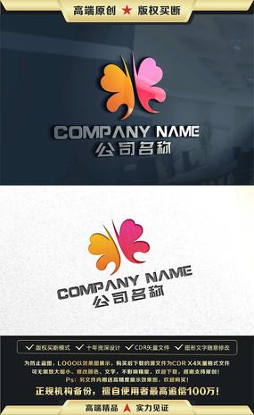 蝴蝶标志蝴蝶LOGO设计