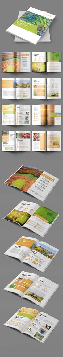绿色农业农产品生态农业画册
