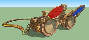 3D眼镜模型下载