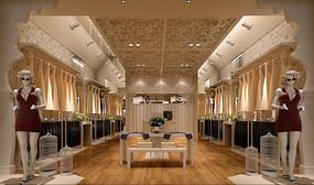 服装店3d素材