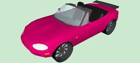 马自达汽车SU模型
