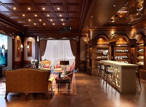 奢华酒窖3D模型