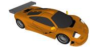 97年迈凯轮F1汽车模型
