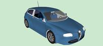 阿尔法罗密欧147 J汽车模型