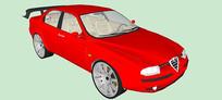 阿尔法罗密欧156汽车模型