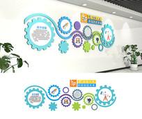 创客空间文化墙学校走廊文化墙