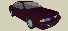 道奇2000 GTX汽车模型