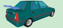 达契亚Solenza汽车模型