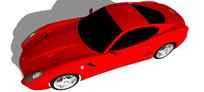 法拉利599汽车模型