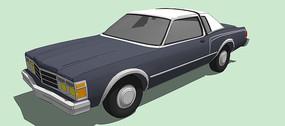 克萊斯勒Baron 汽車模型