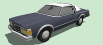 克莱斯勒Baron 汽车模型