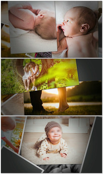 温馨唯美家庭相视频模板