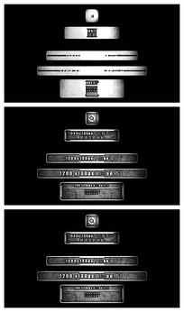 做旧文字排版字幕条演绎视频模板
