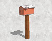 可爱小房子形状信箱