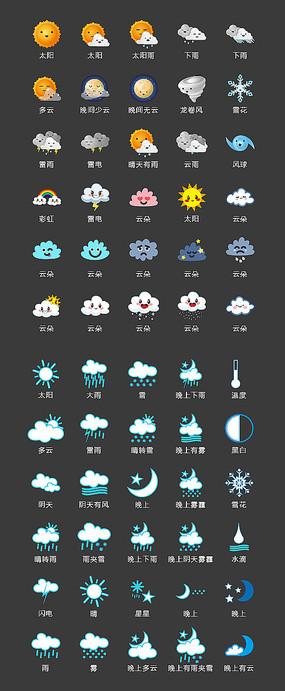 天气图标 AI