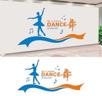 舞蹈室宣传标语文化墙