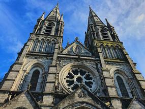 基督教堂建筑外观