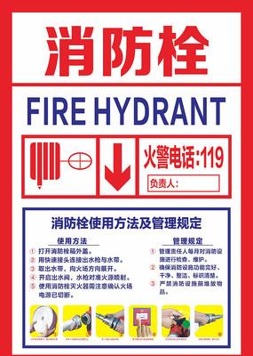 消防栓使用方法消防贴