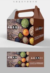 各种豆子五谷杂粮包装设计