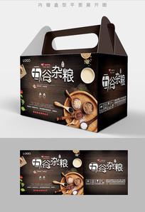 精选五谷杂粮包装礼盒设计PSD