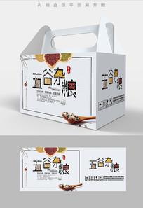卡通风格五谷杂粮包装设计