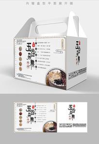 水墨风格五谷杂粮包装设计