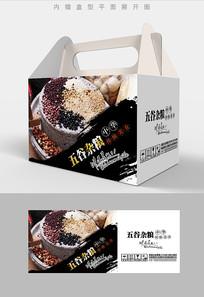 五谷缤纷五谷杂粮包装设计