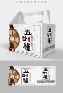 五谷组合五谷杂粮包装设计