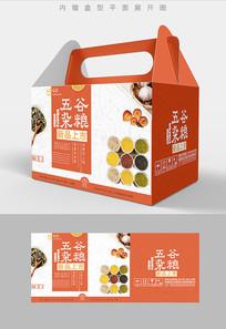 优选五谷杂粮包装礼盒设计PSD