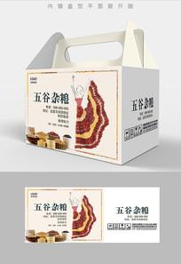 云南舞蹈五谷杂粮包装设计
