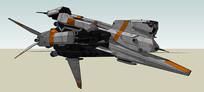航天飞行器SU模型