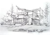 集装箱住宅线描