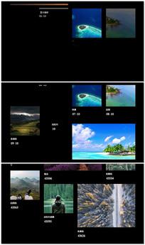 商业化图片展示模板