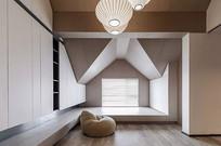 现代简约阁楼设计