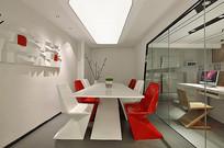 现代主题会议室设计