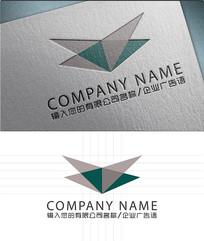 V字母LOGO标志设计