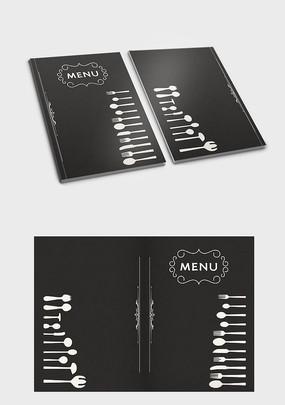 酒店菜单封面设计