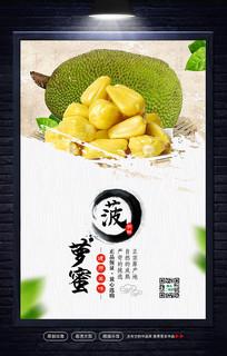 水果菠萝蜜海报