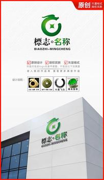 财富玉龙logo设计标志商标设计