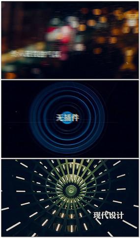 震撼大气电影视频片头视频模板