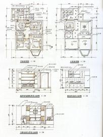 住宅设计平顶立面手绘