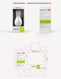 LED灯具礼品零售高端包装盒设计