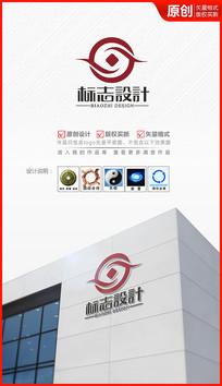 财富共赢logo设计金融标志商标设计