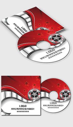 电影影视行业光盘封面设计模板