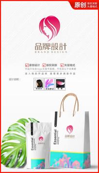 美容美妆美发logo设计商标标志设计