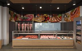 新鲜肉类售卖专柜 JPG